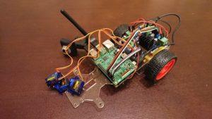 Raspberry Pi3でラジコンカーを作成(その3:基板・配線)(自律運転プロトタイプを自作2-3)