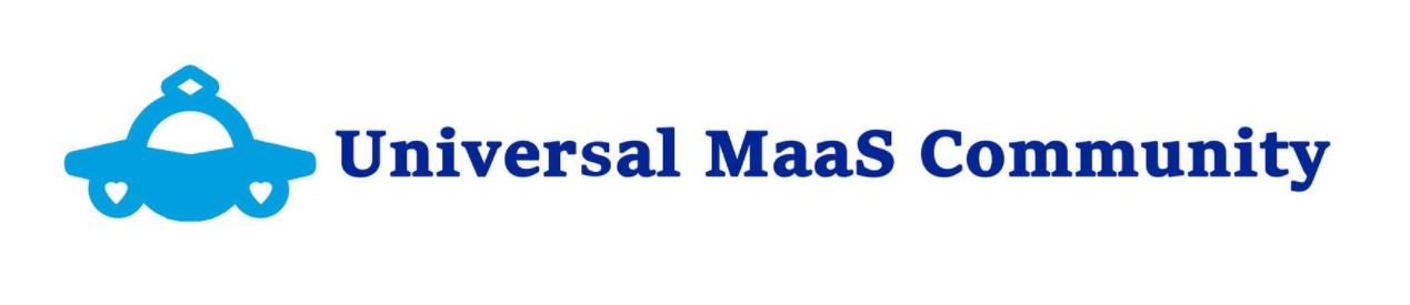 Universal MaaS Community(UMC)ロゴ