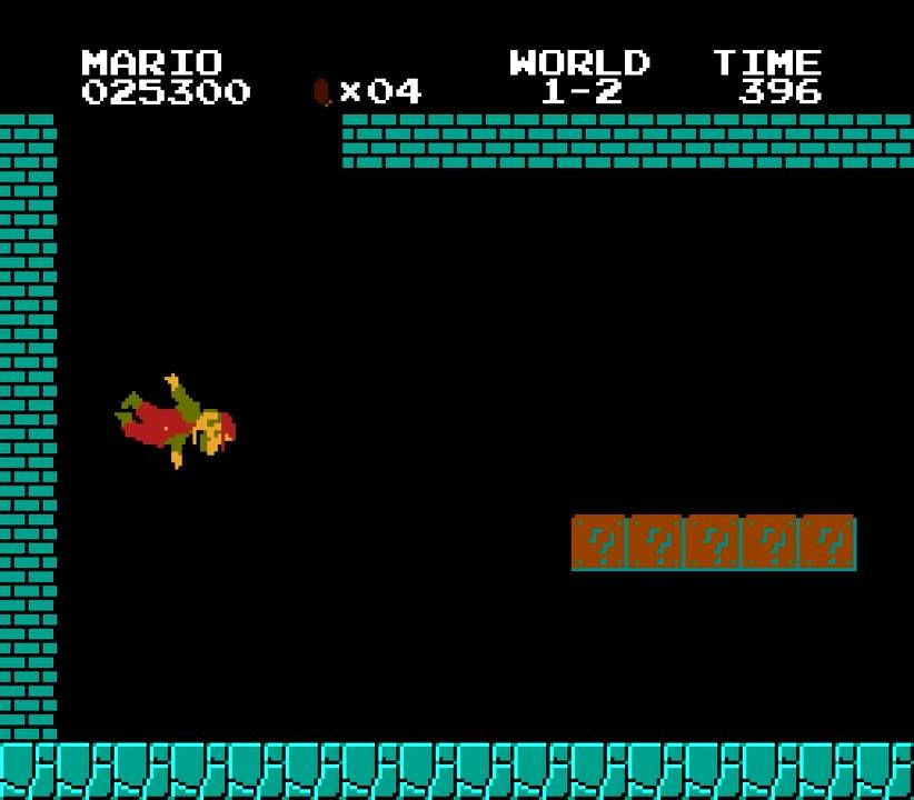 41.あっ!!マリオが落下・・・・・・